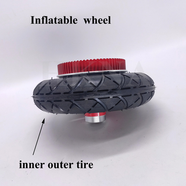 200x50 Inner Tube Replace For Electric Scooter 8x2 Pneumatic Outer Tire