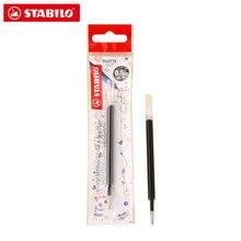 4 adet/grup jel kalem yedekler için Stabilo 268 yumuşak ve pürüzsüz kurşun ofis veya okul kalem 0.5mm kalınlığı