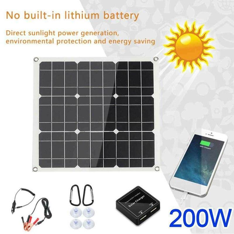 Novo-200 watt 200 w painel solar kit