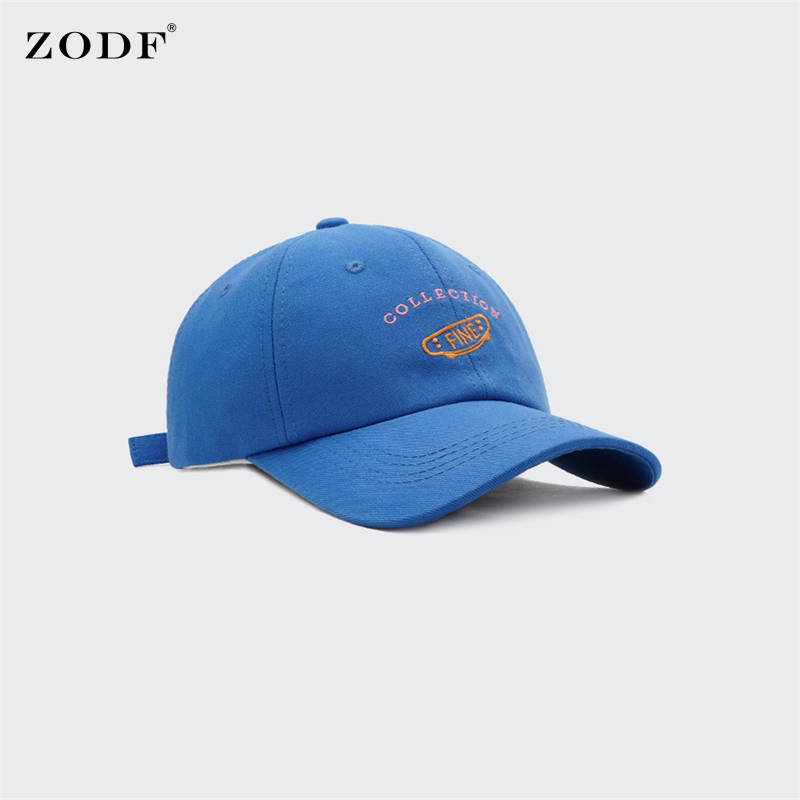 ZODF Brand Fashion 2021 Women Embroidery Baseball Caps Unisex Casual Letters Harajuku Hat Dad Snapback Men Outdoor Cap HY0077