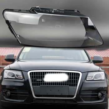 lampshade Headlight cover Lens glass lamp protection Q5 headlight plastic protection Lens protection for AUDI Q5 2010-2012