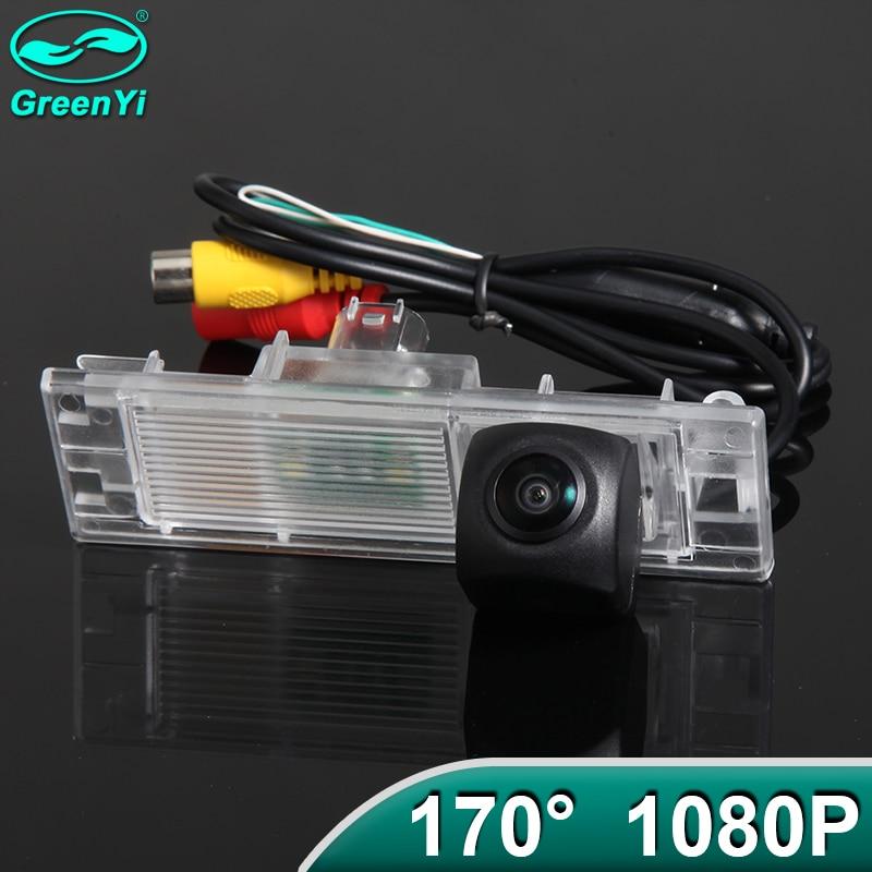 Greenyi 170 graus ahd 1920*1080p veículo especial câmera de visão traseira para bmw 6 série 1 f20 f21 m6 e63 e64 m6 f06 mini carro clubman