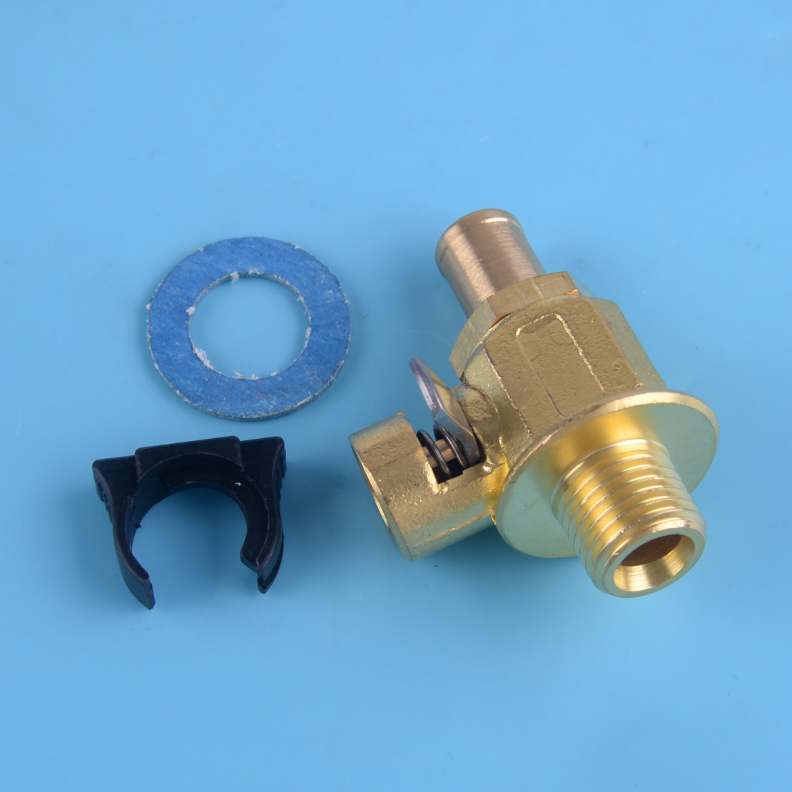 Beler F106N Quick Oil Drain Valve M14-1.5 Threads With Long Nipple Metal Cars Universal