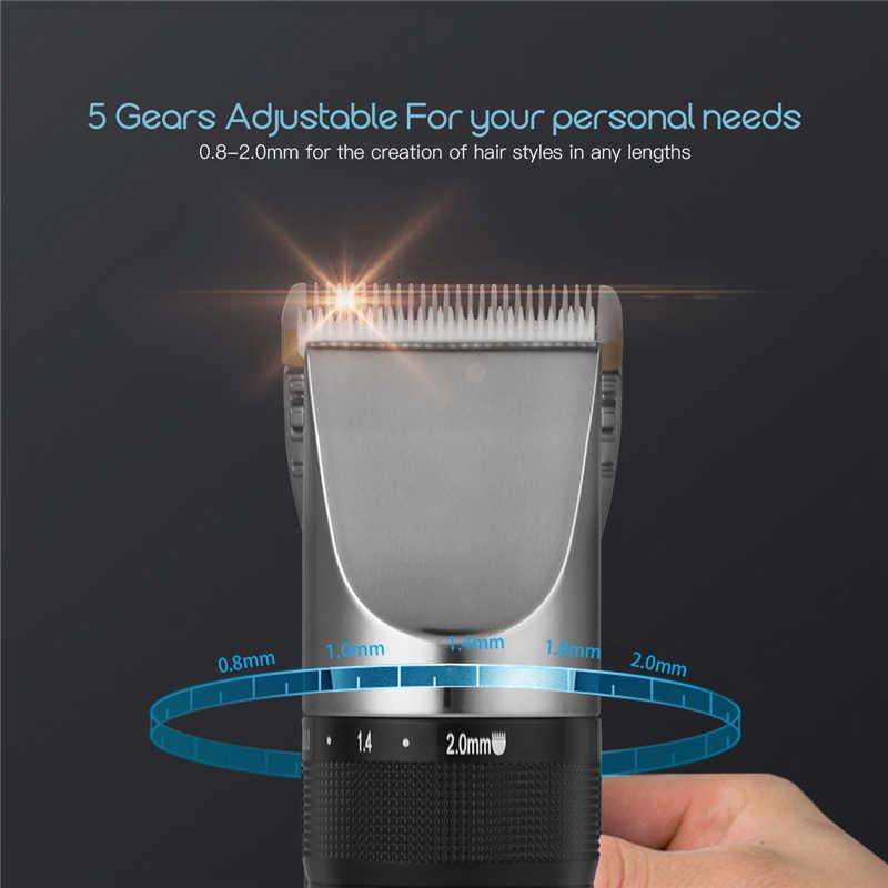 Trimmer Professional Hair Clipper Titanium Ceramic Blade Hair Cutting Machine Beard Trimmer Haircut and Hair Clipper Head 49