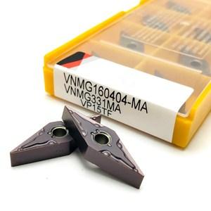 Image 1 - Carbide insert VNMG160404 MA VP15TF high precision external metal turning tool lathe tools CNC machine parts turning blade