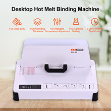 Binding-Machine A4-Books Desktop Document for School Office 50mm Binder-300w Contract