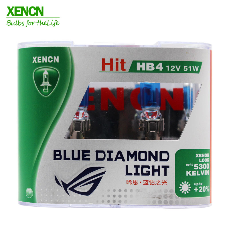 XENCN HB4A 9006XS 12 в 51 Вт 5300 к синий бриллиант светильник автомобильные лампы супер белые противотуманные галогеновые лампы для Cadillac Dodge Chrysler Новинка 2 POS