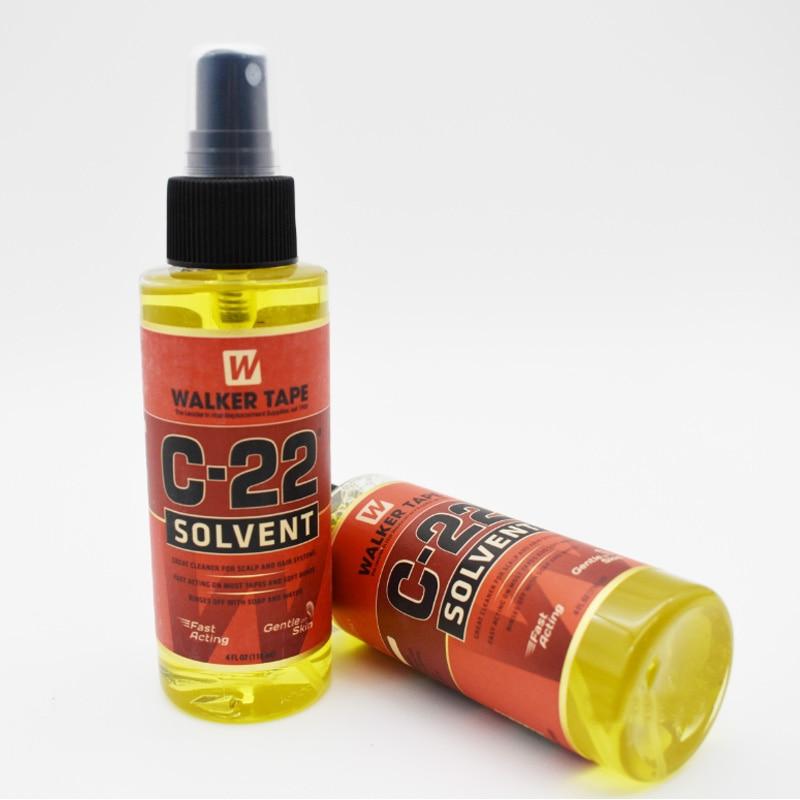 Растворитель для волос 4FL.OZ(118 мл), средство для удаления клея для кружевных париков и париков для прочной двухсторонней ленты и мягких узоро...