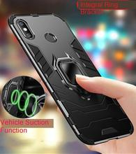 For Xiaomi Mi Max 3 Case Max3 Cover Hybrid Silicone&TPU Armor Hard Magnet Phone 2 Mix 2s Ring Holder