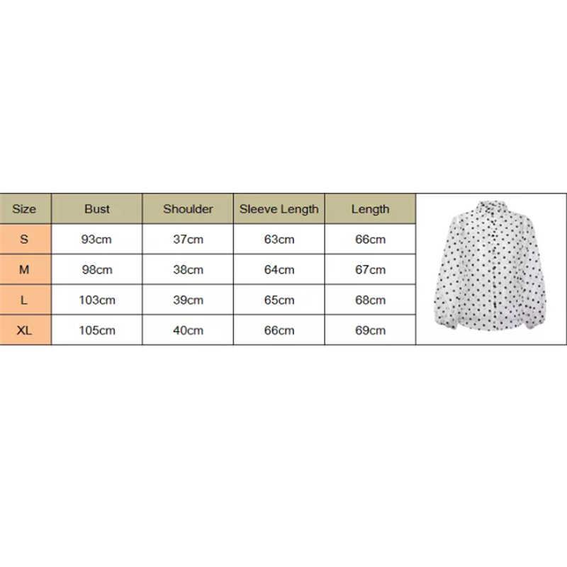 Модный сетчатый топ, блузка в горошек, женская рубашка с рукавом-фонариком, сексуальные черные белые прозрачные футболки, пляжные Топы
