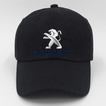 Peugeot Men's Cap Men Solid Unisex Black Women Men's Baseball Cap Men Female Cap Black Baseball Cap Men's(China)
