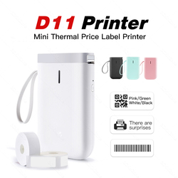 Label Printer Mini Niimbot D11 Bluetooth Wireless Thermal Printer with Free App Label Paper Mobile Phone Printer