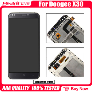 Image 5 - Pantalla LCD y Digitalizador de pantalla táctil 100% Original para DOOGEE X30, con Marco, módulo de pantalla, accesorios de reparación