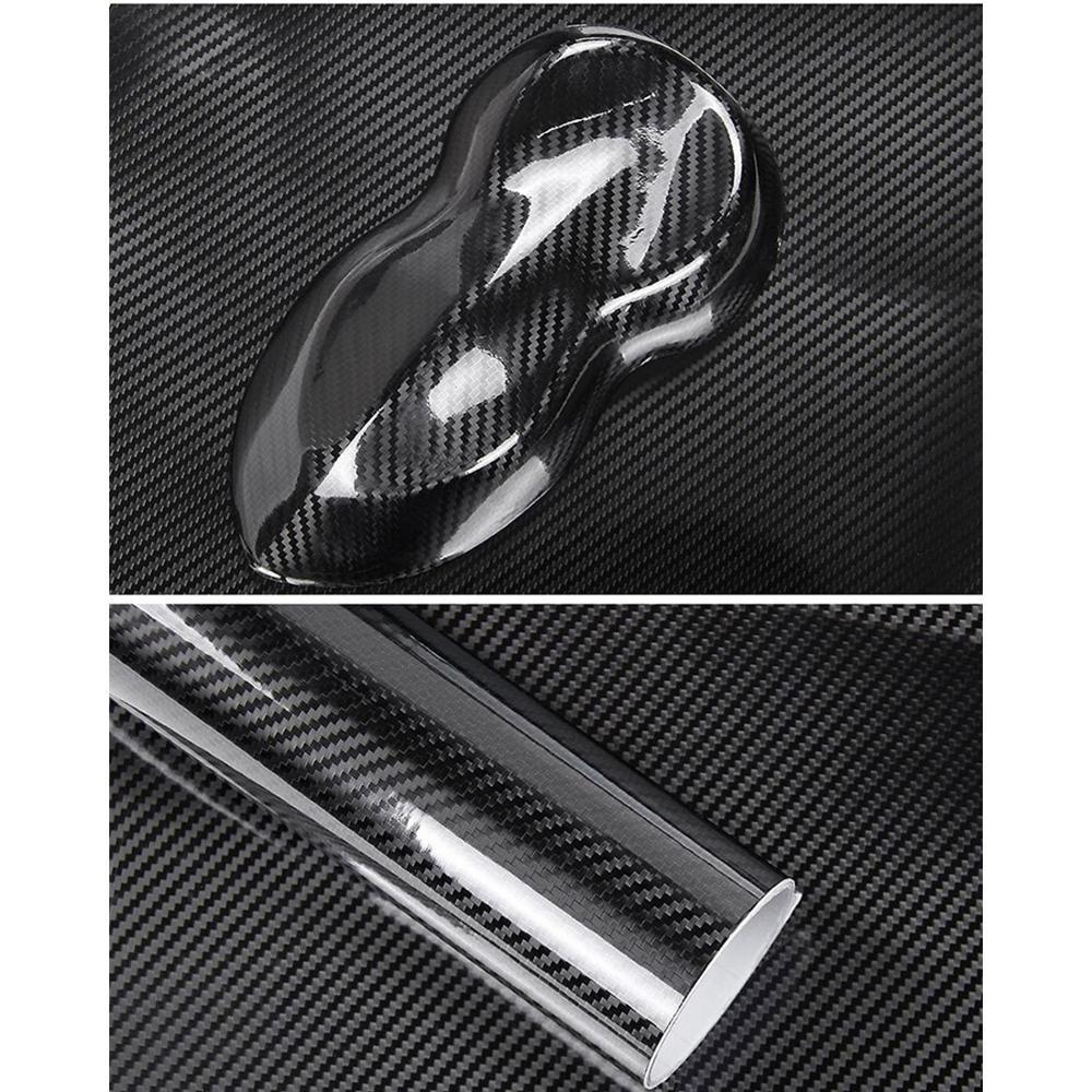 50*200 см Глянцевая 6D карбоновая защита салона автомобиля виниловая оберточная пленка наклейки для планшета мотоцикла Стайлинг автомобиля
