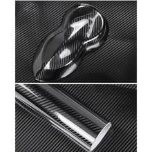 50*200cm alta brilhante 6d fibra de carbono interior do carro proteção vinil envoltório filme da motocicleta tablet adesivos estilo do carro