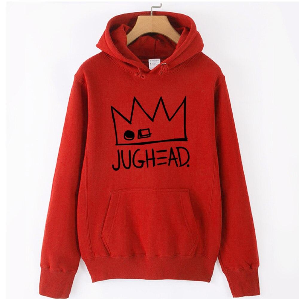 Jughead Jones Crown South Side Serpents Riverdale Girl Woman Hoodie Autumn Winter Fleece Couple Clothes ZIIART 8