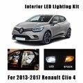 8 шт. Canbus безошибочные светодиодные лампы для внутреннего чтения багажника комплект освещения для 2013-2017 Renault Clio 4 IV MK4 номерной знак лампа