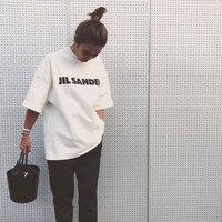 느슨한 여름 여성 티셔츠 남자 편지 인쇄 특대 탑스 티 패션 Steetwear 하프 슬리브 티셔츠 여자 남자 티셔츠 겉옷