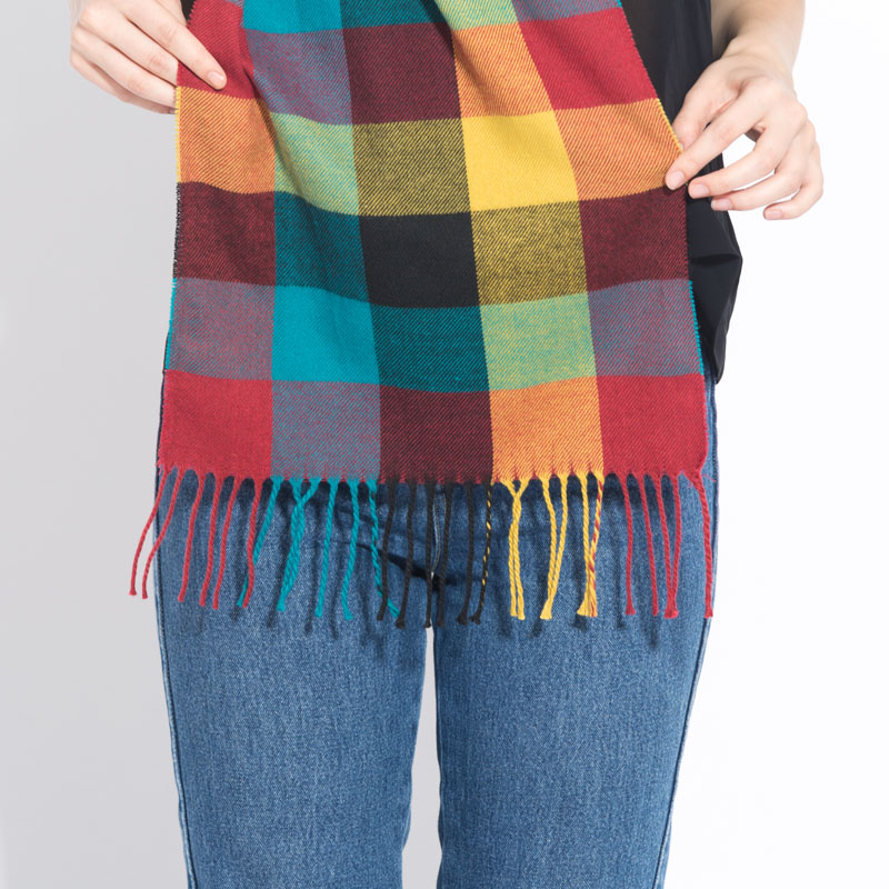 2019-Winter-Plaid-Scarf-For-Women-Wool-Pashmina-Warm-Shawls-and-Wraps-Cashmere-Long-Tassel-Female