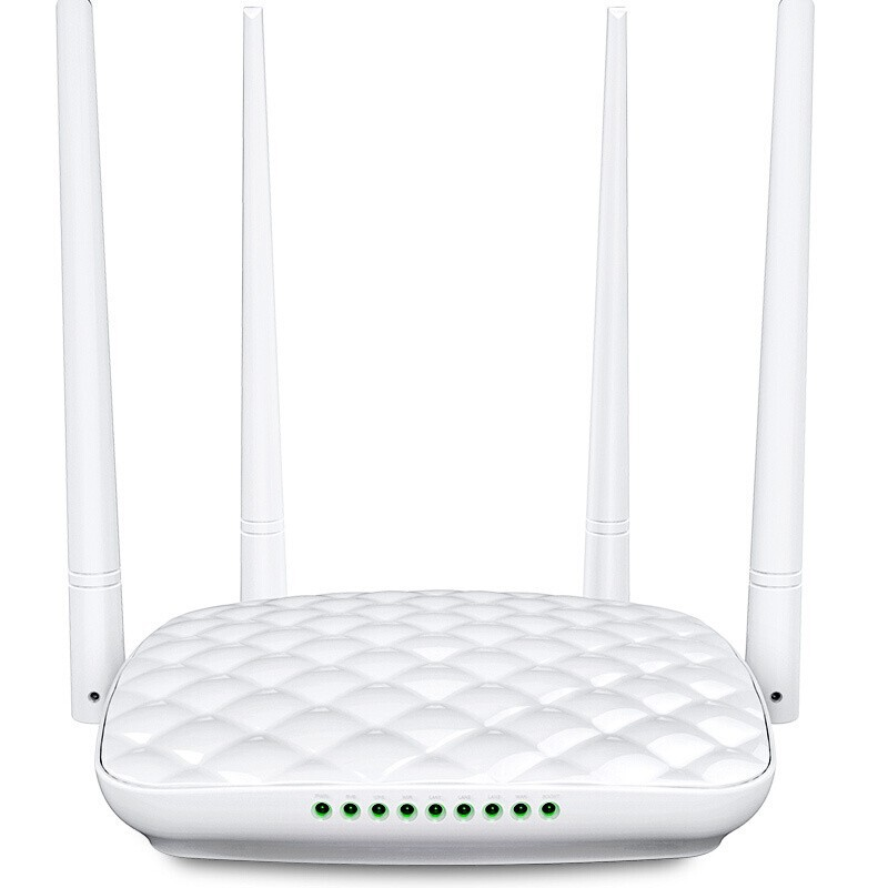 Tenda Fh456 Smart Four Antenna Wall WiFi Wireless Router Villa Household Infinite Enhanced