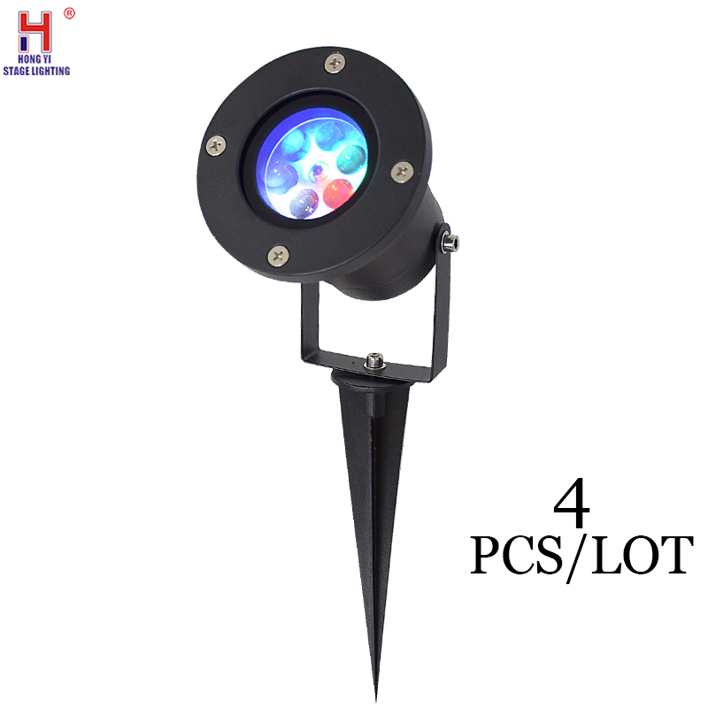 LED Laser Christmas Halloween Lights Outdoor Moving Snowflake Christmas Projector Light For DJ Disco Party Lights (4pcs/lot)