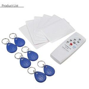Image 5 - Handheld rfid leitor de cartão handheld rfid escritor 13 pces 125khz leitor de cartão escritor copiadora duplicador com 6 cartões/tags kit