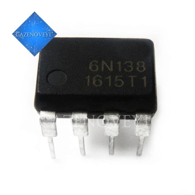10pcs 6N138 DIP8 photoelectric Coupler