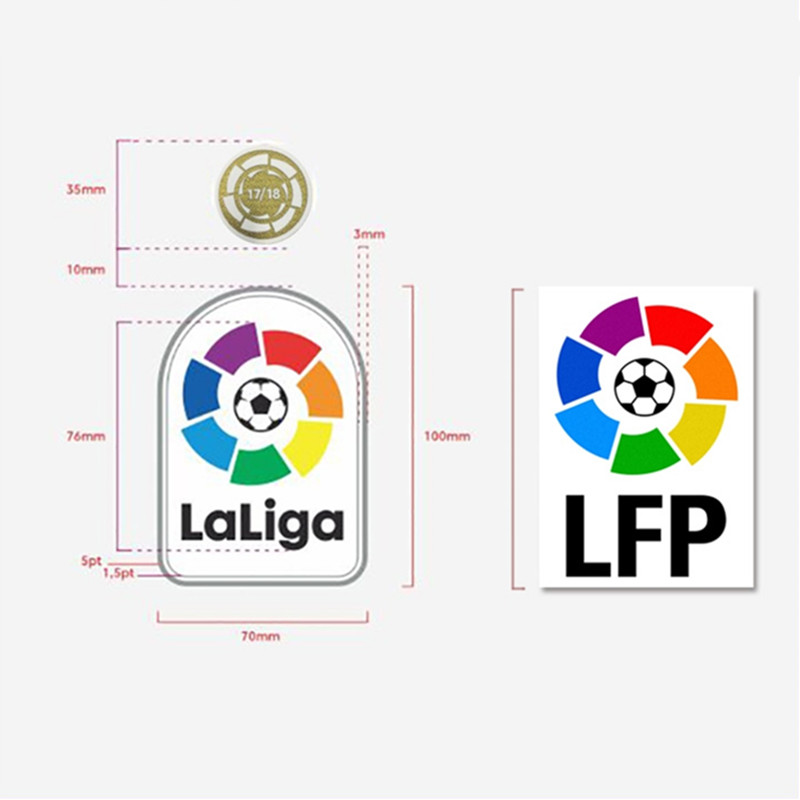 2019-20 LFP Patch Set 17/18 18/19 La Liga Champions Patch La Liga Badge