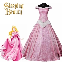 Top Quality New Arrival Sleeping Beauty Princess Aurora Cosplay Costume For Adult women Party Costume Dress Custom Made
