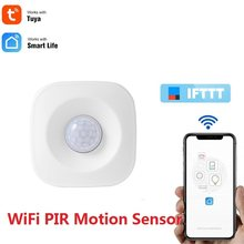 Smart WiFi Infrared Alarm Detector Home Security Alert System Wireless PIR Motion Sensor Remote Control For Tuya Smart Life APP