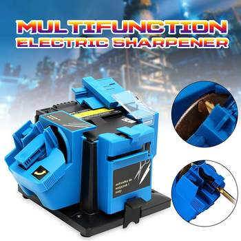 96W 230V Electric Multifunctional Sharpener Grinding For Knife Twist Drill HSS Drill Scissor Chisel Electric Grinder