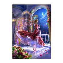 New 5d diamond painting foreign trade characters dreamy beautiful girl diy cross stitch