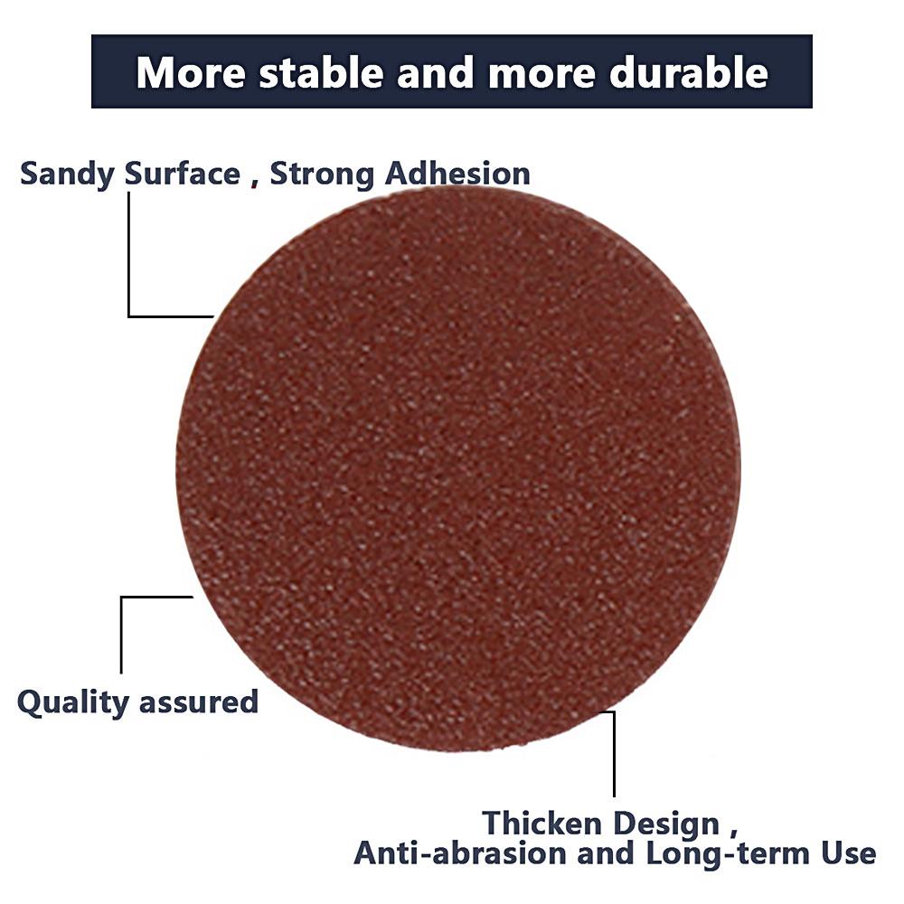 Strong adhesive orbital sander pad