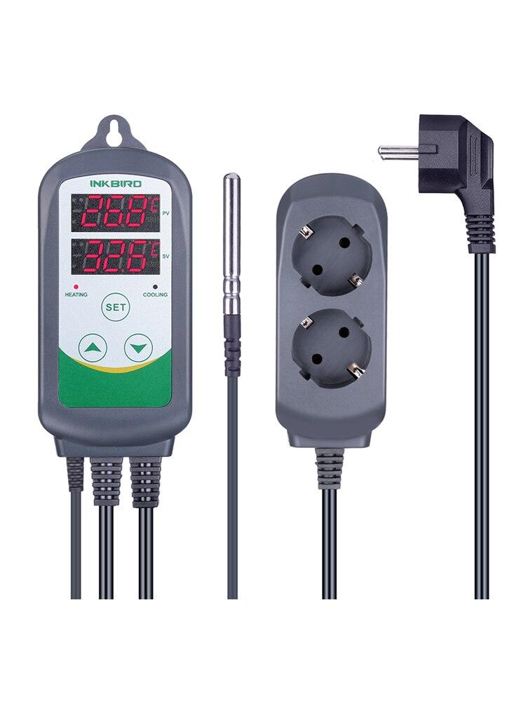 Inkbird Temperature-Controller Terrarium ITC-308 Carboy-Fermenter Cooling Greenhouse