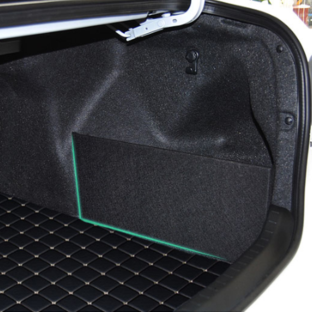 Car Trunk Stowing Organizer Board Tidying Side Partition Plate Sort Out For Toyota Corolla 2014~2018 2019 2020 Accessories