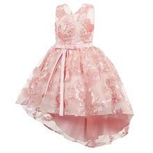 Дизайнерские платья для девочек модное платье принцессы дышащее