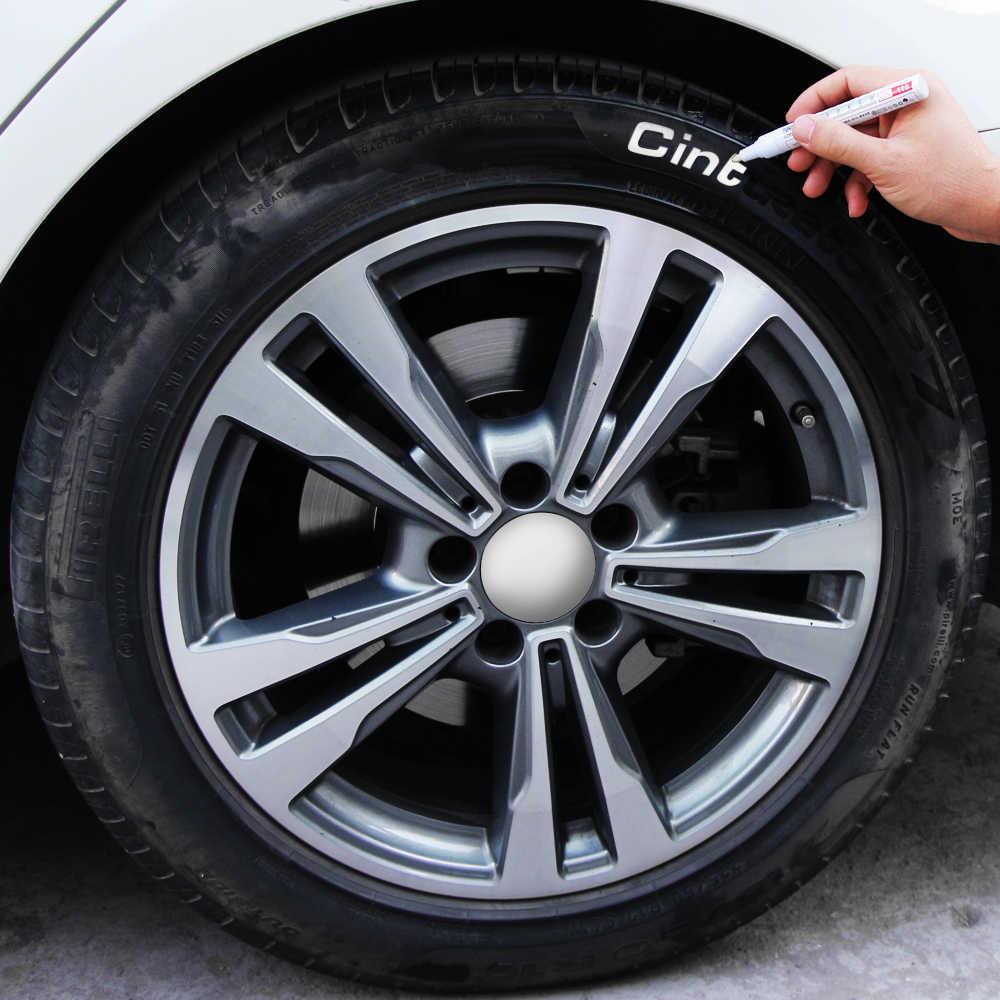 Car Tyre Tread CD Metal Graffiti Marker Pen for audi a3 a4 b8 b6 a6 c6 for bmw e46 e90 e60 f10 f20 f30 e39 for mercedes benz