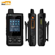 "UNIWA B8000 IP68 su geçirmez 2.4 ""cep telefonu POC Walkie Talkie MT6739 cep telefonu Android 8.1 4G LTE dört çekirdekli 1G + 8G 4000mAh NFC"
