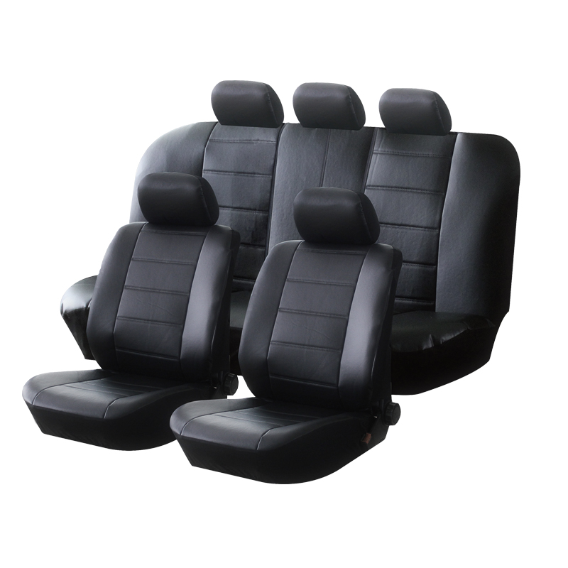 AUTOYOUTH PU Leather Car Seat Covers Universal Full Synthetic Set Full Seat Covers for Toyota Lada Renault Audi Peugeot VW      - AliExpress