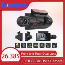 3'' IPS Car DVR Camera Hidden Video Recorder Dual lens Dashcam HD Night Vision Dual Recording Front and Rear Dvr Cameras A68