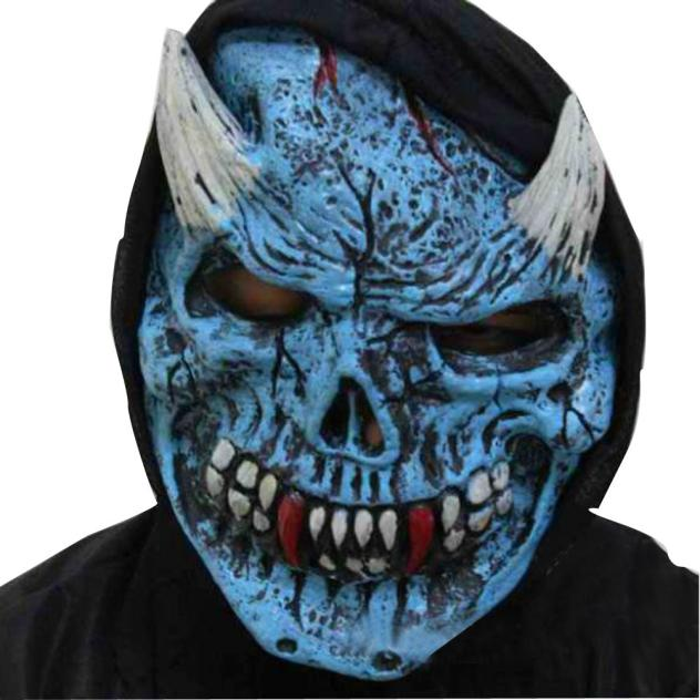 Halloween Masks Scary 2019 Cosplay Mask Latex Realistic Men Terrorist Face Mask Halloween Party Latex Funny Mask K919