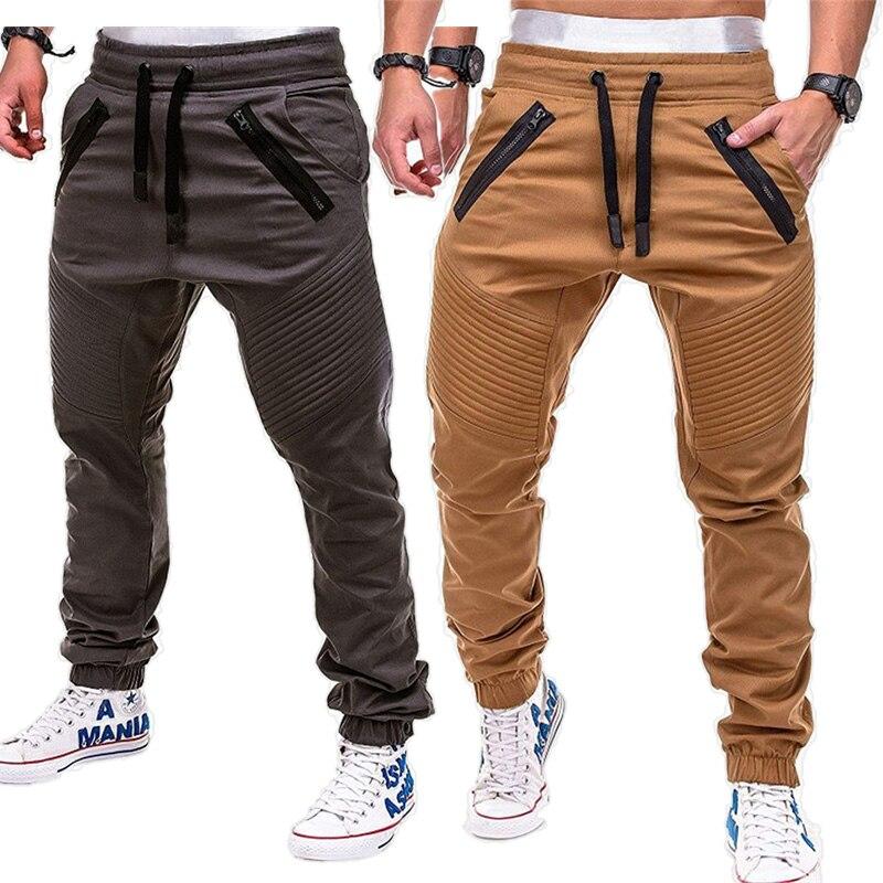 Fashion Brand Autumn Fitness Men Gyms Pants Trousers Men Sweat Pants Streetwear Pantalones Hombre Joggers Pants Men's Sweatpants