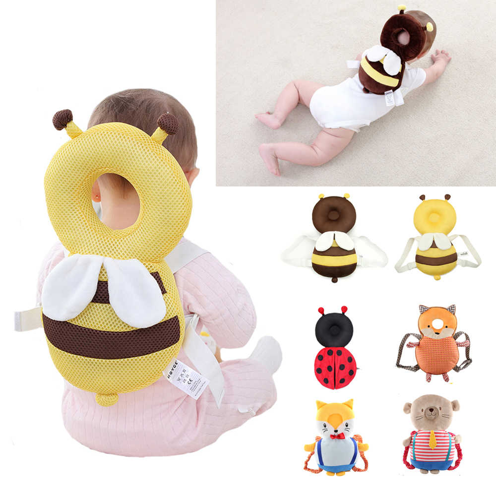 Baby Bed Crib Nest Head Protection Drop Cushion Anti-fall Pillow Children's Struggle Bed Cot
