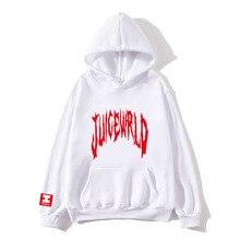 rapper Juice Wrld Hoodies Men/Women 2019 New Arrivals Fashion print pop hip hop style cool sweatshirt hoody coats