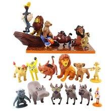 Desenhos animados filme o leão guarda rei kion simba figura de ação bunga beshte fuli ono figurinhas pvc modelo brinquedos presente para crianças