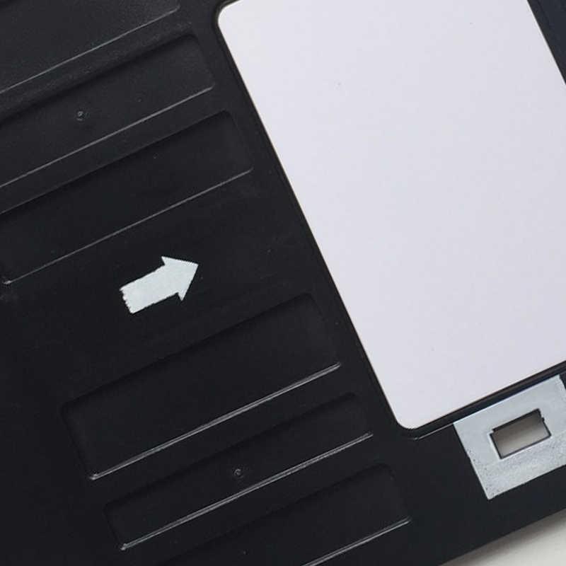 Identyfikator z PVC taca z tworzywa sztucznego drukowanie kart taca do projektora Epson R260 R265 R270 R280 R290 R380 R390 RX680 T50 T60 A50 P50 l800 L801 R330