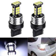 цена на 2x 7443 7440 Signal Lamp T20 Led Bulbs Led 24SMD 3030 WY21W W21/5W W21W LED Turn Signal Light Reverse Tail Brake Lights white