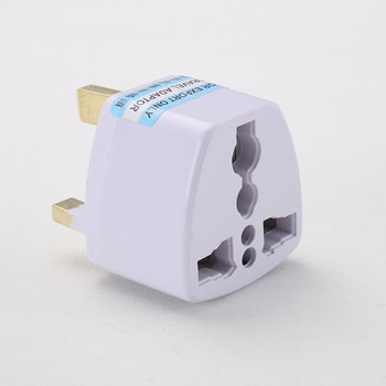 To Universal UK New Converter Gadget Consumer Electronics  UK Plug convert to Universal Plug 2