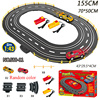1:43 Electric Track Railway Toys Slot Car Set Autorama Circuit Voiture Double Remote Control Racing Track For Boy Children Gift 3