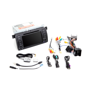 Image 5 - Josmile 1 Din Android 10 GPS Navigation For BMW E46 M3 Rover 75 Coupe 318/320/325/330/335 Car Radio Multimedia DVD PlayerStereo